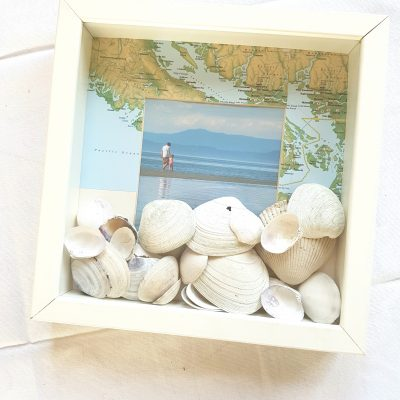 Create a Beach Inspired Shadowbox