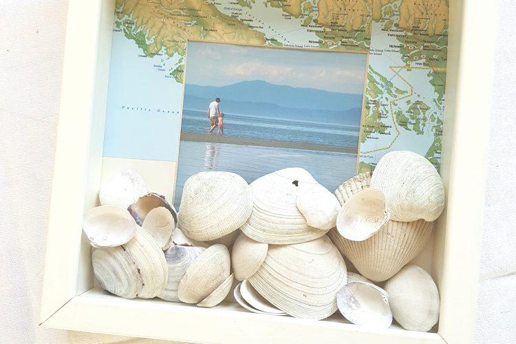 Create a Beach Inspired Shadowbox