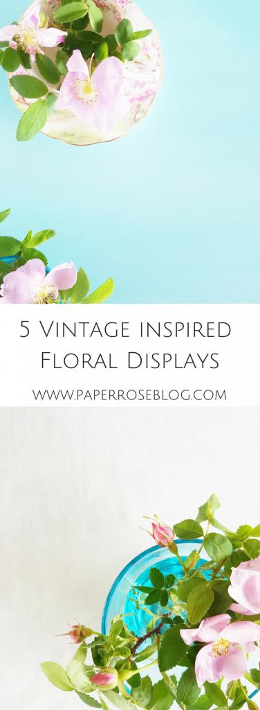 vintage-floral-display