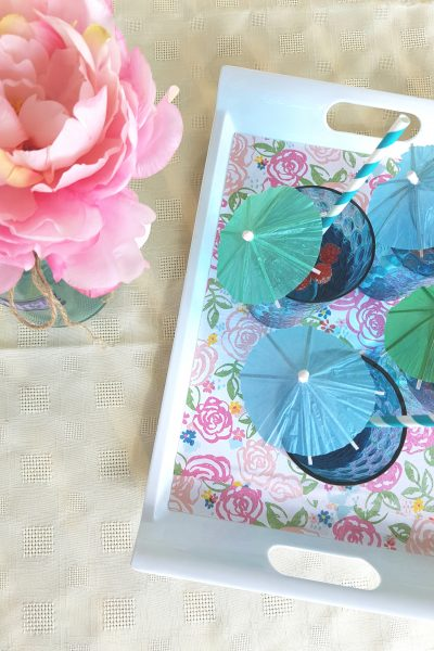 Create the Perfect DIY Drink Tray