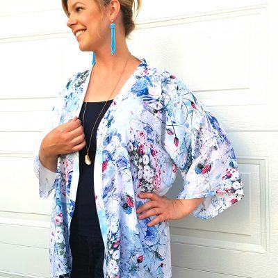 Quick & Easy DIY Kimono
