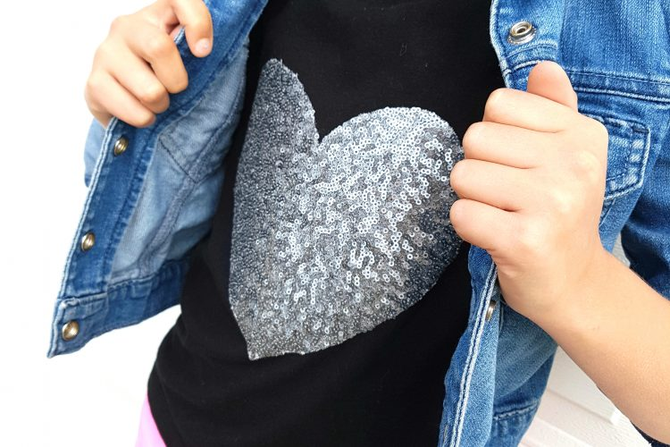 Put Your Heart On It Patch T-Shirt