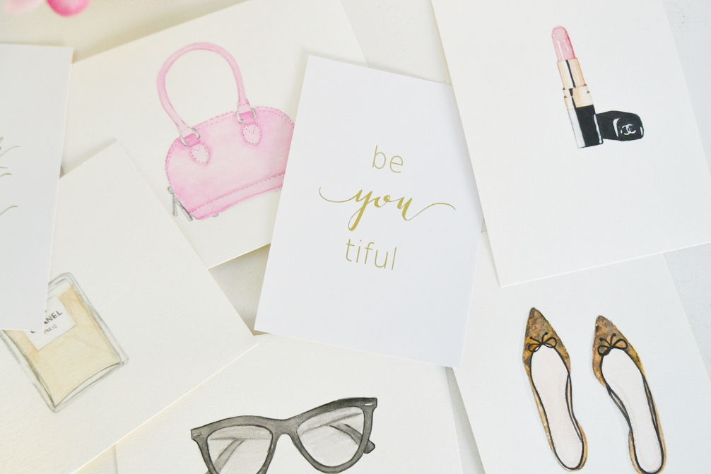 purse-lipstick-shoes-glasses-perfume-watercolour-images