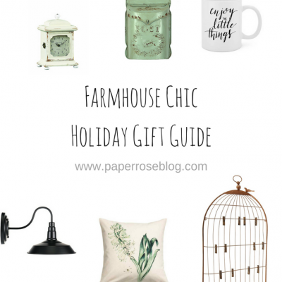 Holiday Gift Guide for the Farmhouse Chic Decor Lover
