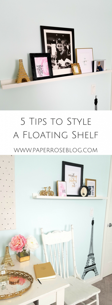 floating-shelf-chic-feminine-office-pink-gold-white
