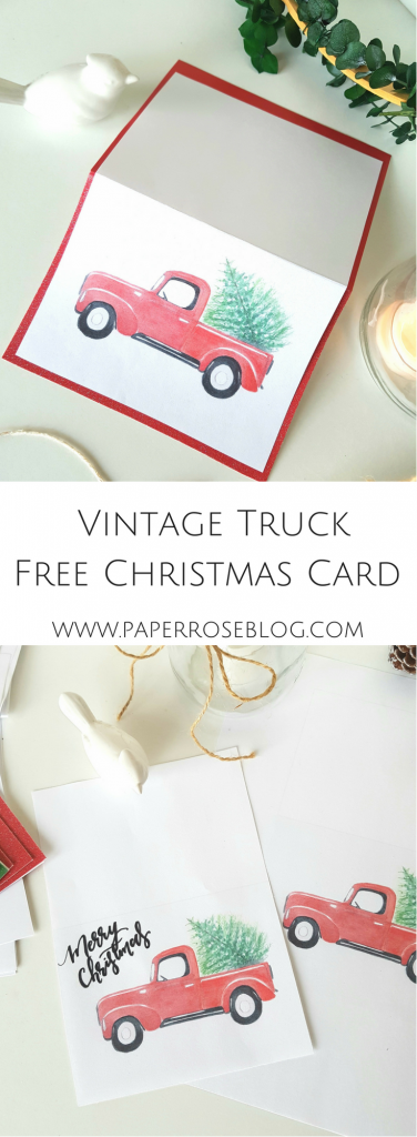 red-truck-Christmas-card