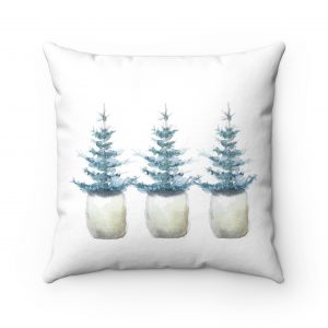 three-painted-evergreen-trees-on-pillow