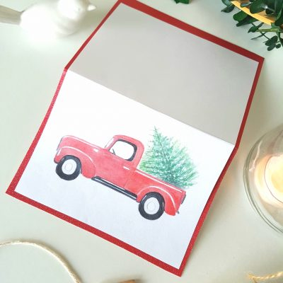 Free Vintage Christmas Card