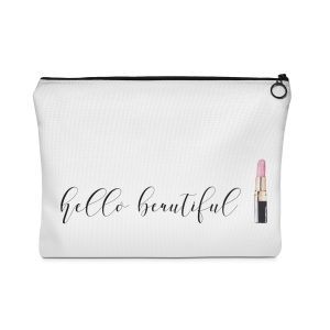 Zippered Carry All Pouch