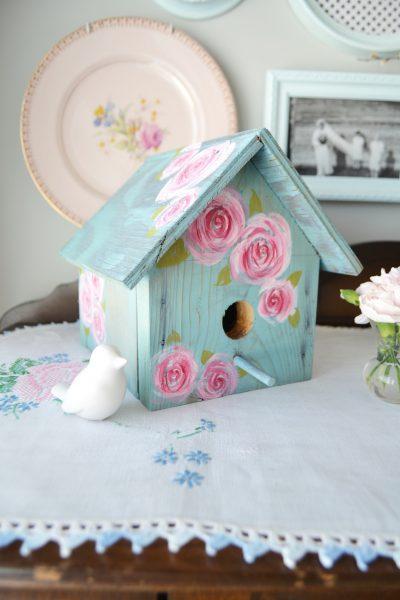 Shabby Chic Birdhouse