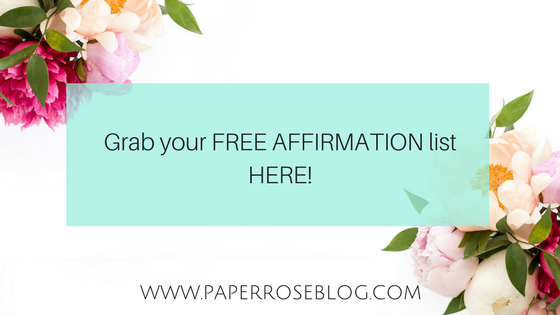 free-affirmation-list