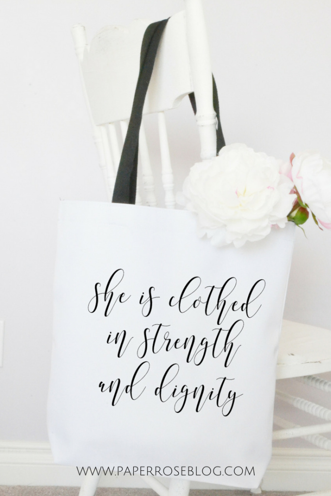 proverbs-quote-tote-bag