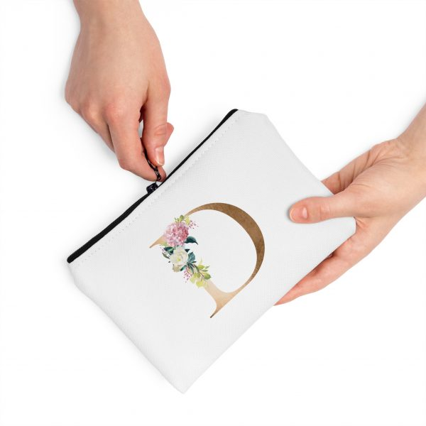 Floral-Letter-D-Pouch-with-hands