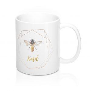 white-mug-bee-image-geometric-shape