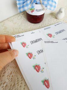 strawberry-labels-jam-jar