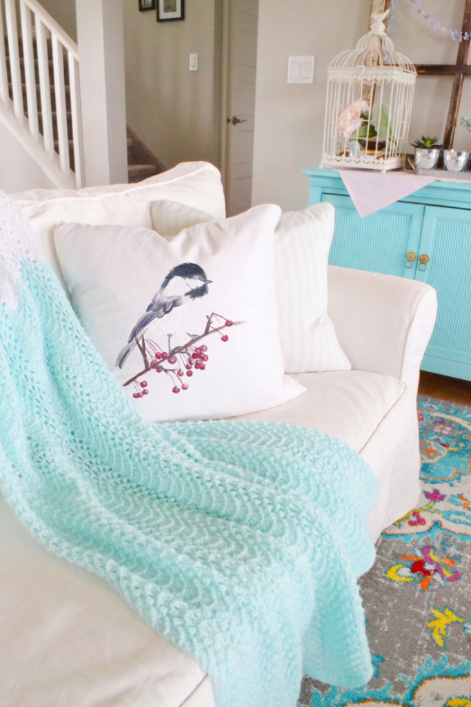 decorating-with-throw-pillows-chickadee-pillow