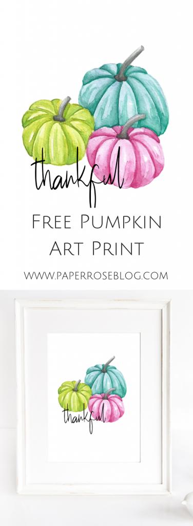 free-pumpkin-art-print