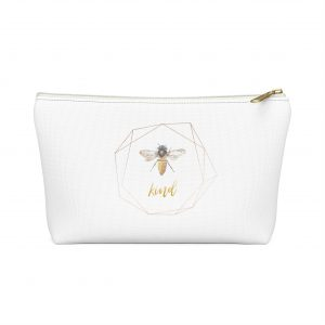 Zippered T-Bottom Pouch
