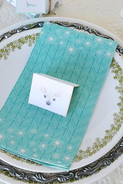 Christmas Place Card Tutorial