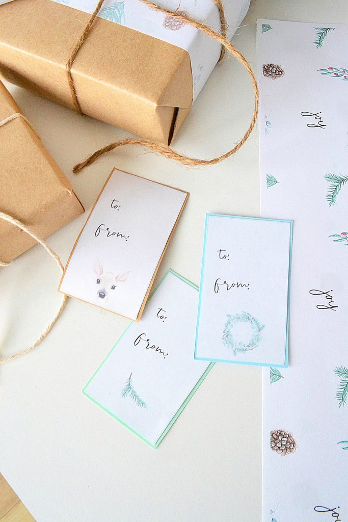 Christmas-place-cards