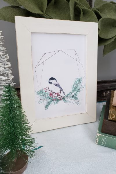 Free Printable Chickadee Card