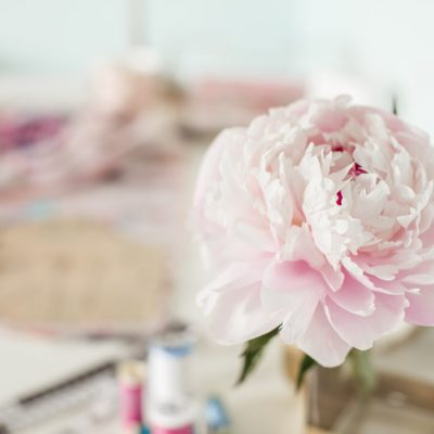 Creating a Watercolor Peony