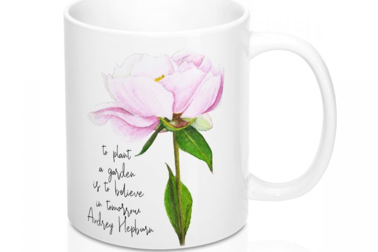 Garden Quote Coffee Mug