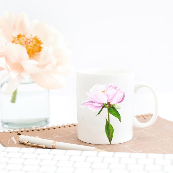 pink-peony-coffee-mug