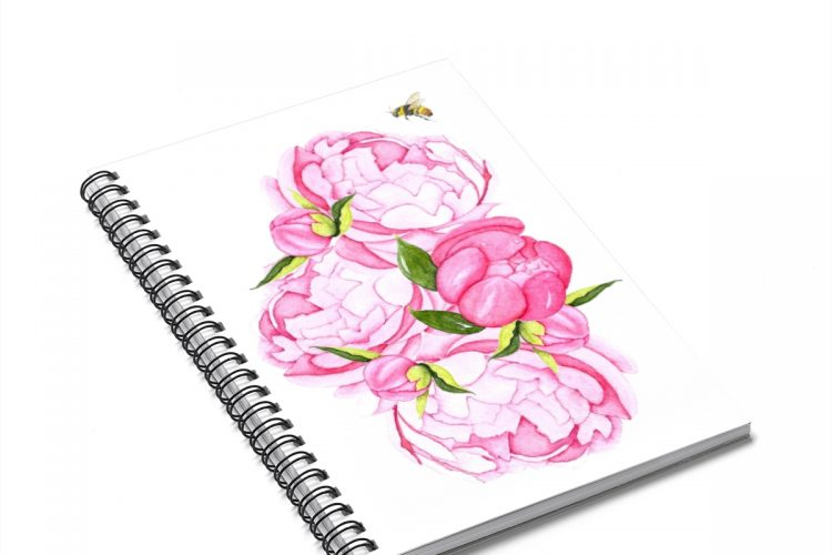Peony and Bee Journal