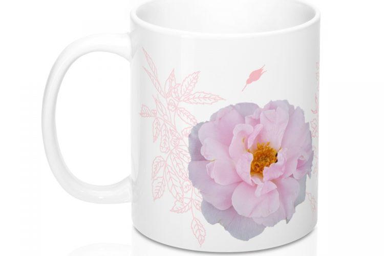 Rose Photo Coffee Mug