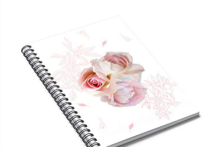 Rose Photo Art Journal