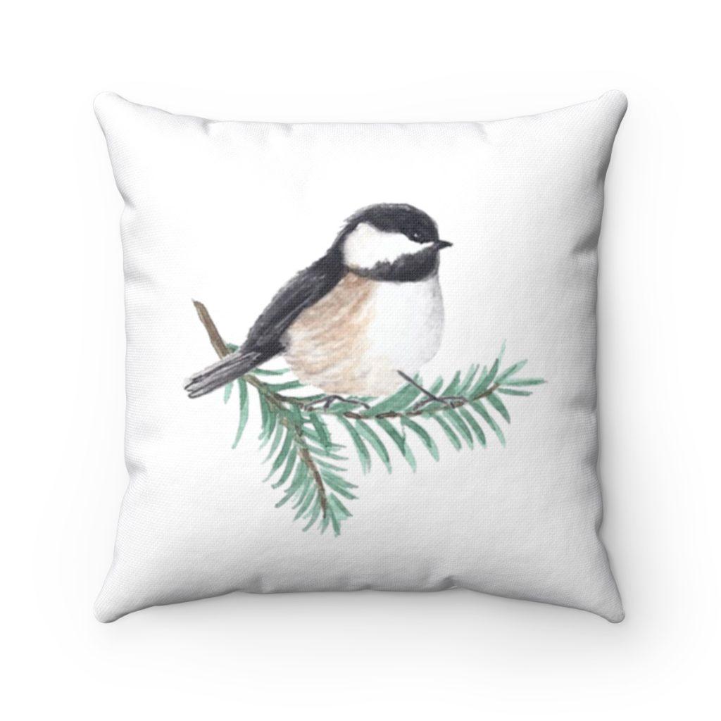 chickadee-pillow