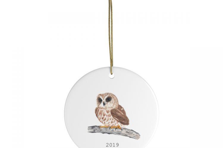 Owl Ornament 2019