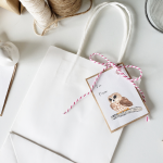 Free Woodland Bird Christmas Gift Tags