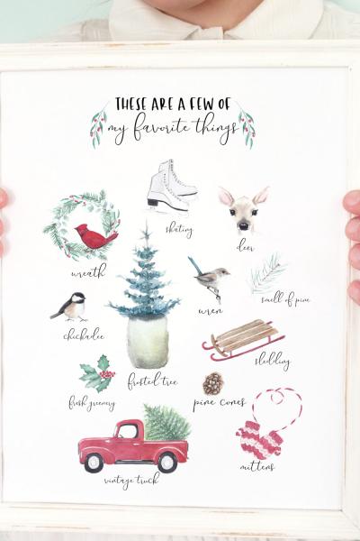 Free December Printable
