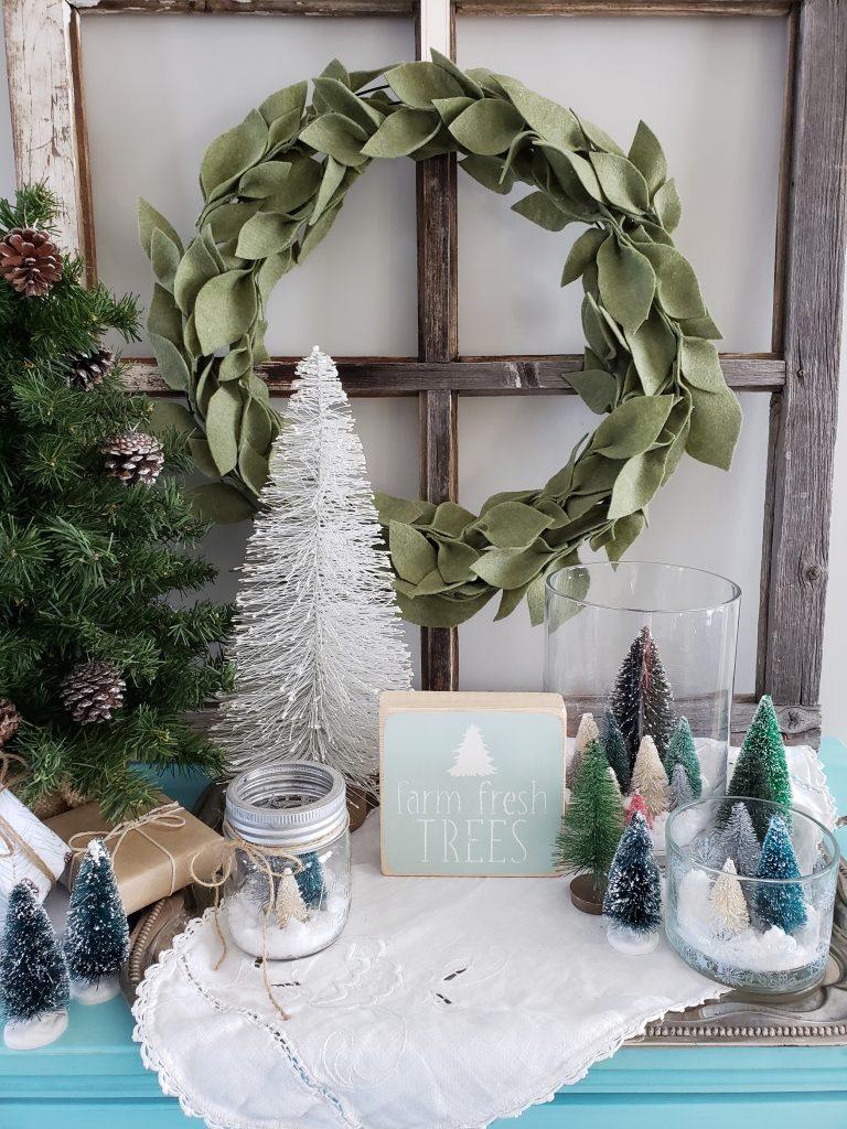 diy-bottle-brush-tree-craft