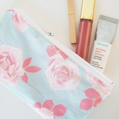 Easy DIY Zipper Pouch
