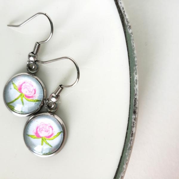 pink-peony-dangle-earrings