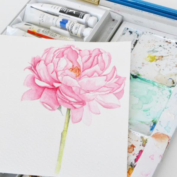 watercolor-peony