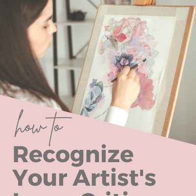 How to Recognize Your Artist's Inner Critic